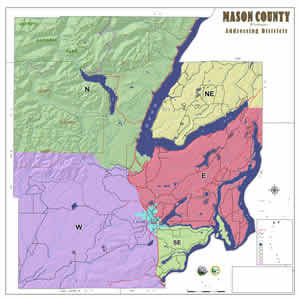 Mason County Geographic Information Systems Maps