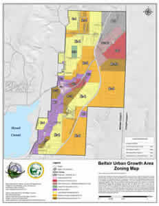 Belfair zoning map