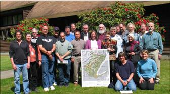 Members of the WRIA Planning Unit in 2006 on the day they recommended the WRIA 16 Watershed Management Plan for adoption by Mason and Jefferson counties.
